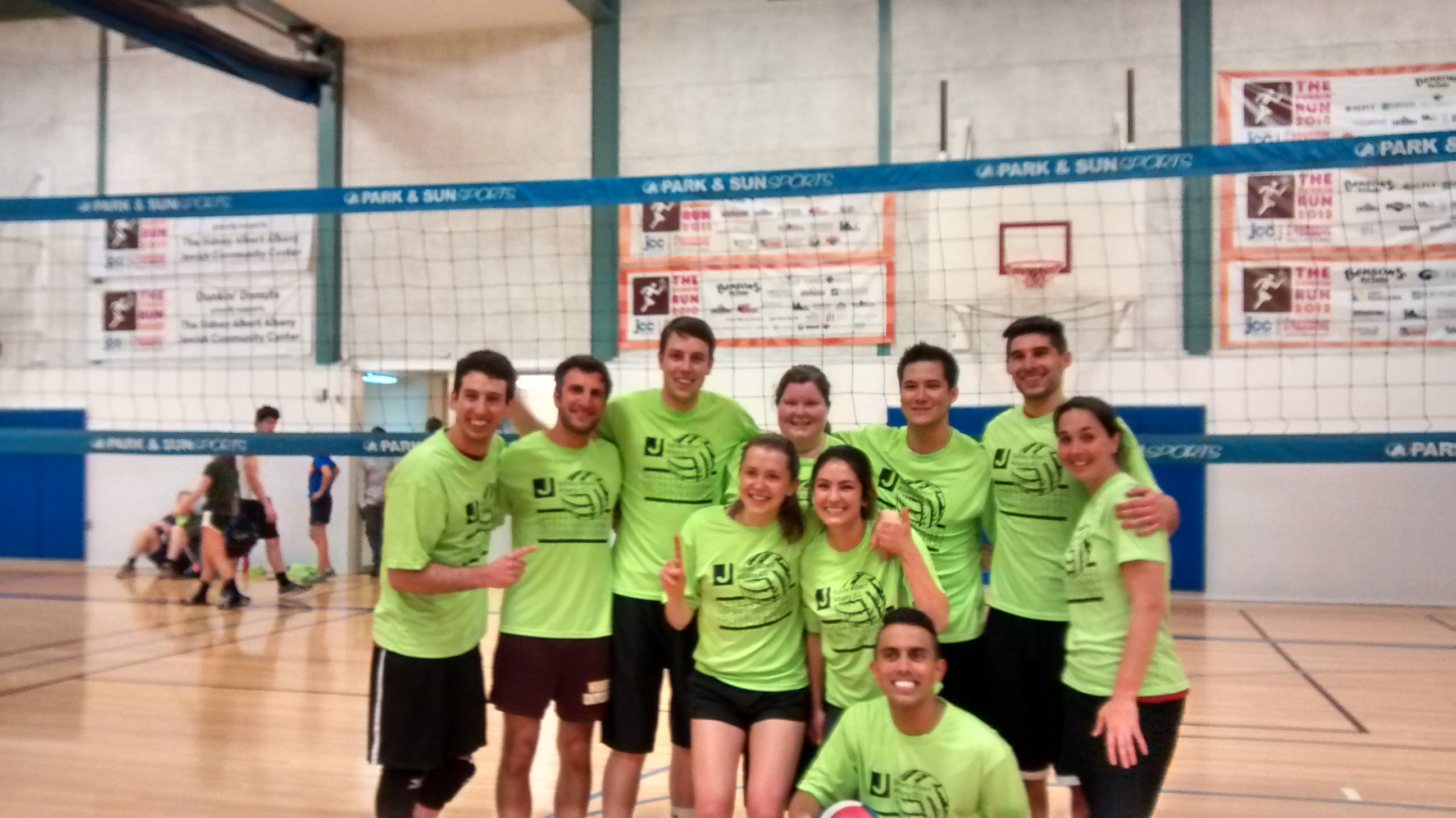 Sidney albert albany jcc adult co ed recreational volleyball