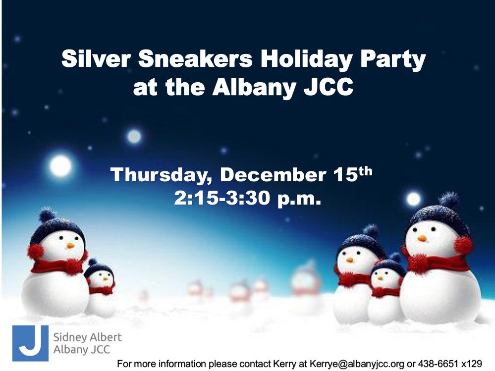 Sidney Albert Albany JCC - Silver Sneakers Holiday Party